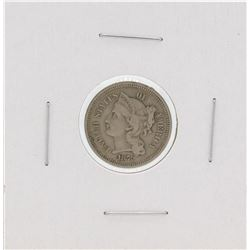 1879 Three Cent Nickel Coin