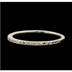 0.12 ctw Diamond Ring - 10KT White Gold