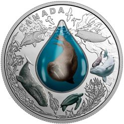 2017 $20 Canadian Underwater Life - Pure Silver Co