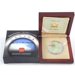 Natural Wonders - .9999 Fine Silver $20.00 'Niagar