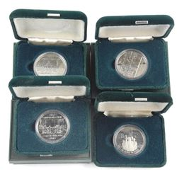 Lot (4) Cased Dollar Coin
