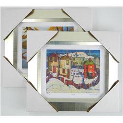 Lot (2) Lawren Harris (1885-1971) Studio Panel Lit