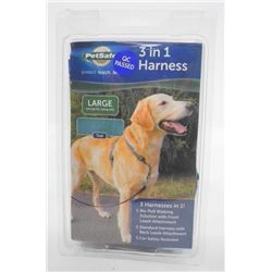 Petsafe - 3 in 1 Harness Teal. Large