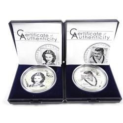 Lot (2) Hollywood Legends Coins 'Vivian Leigh - Cl