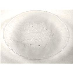 Estate Press Glass - Round Sewing Plate (67) (RT 5