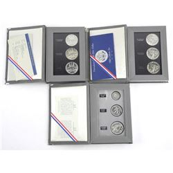9 Coin Set 1982, 1983, 1984 Greek Olympics Silver