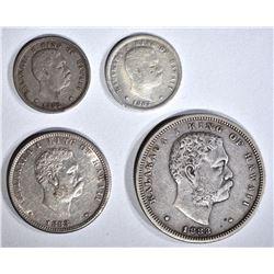 1883 HAWAII COINS: