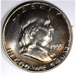 1955 PROOF FRANKLIN HALF DOLLAR