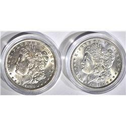 1883-O & 1887 CH BU MORGAN DOLLARS