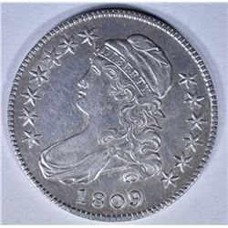 1809 BUST HALF DOLLAR XF