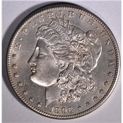 1898-S MORGAN DOLLAR  CH BU  PL