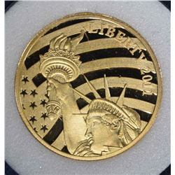 2011 COOK ISLAND 1/2 oz .24 FINE GOLD