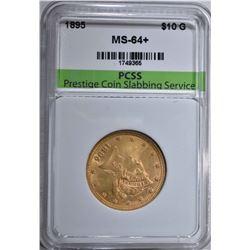1895 $10.00 GOLD LIBERTY  PCSS CH BU+
