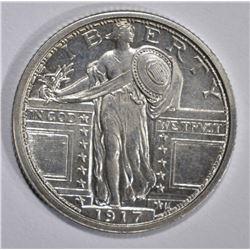 1917 STANDING LIBERTY QUARTER  GEM BU FH TYPE 1