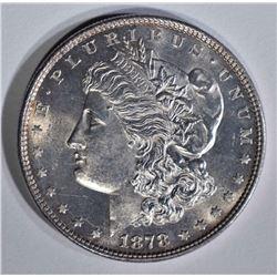 1878 MORGAN DOLLAR  GEM BU