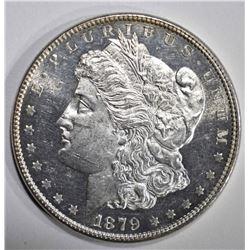 1879 MORGAN DOLLAR  DMPL CH BU