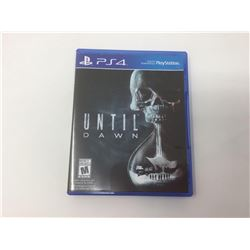 PS4 Until Dawn Game
