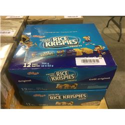 Rice Krispies Original  Double Chocolate Chunk Bars Lot of 2