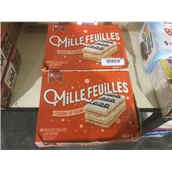 Vachon Mille Feuilles Flaky Pastries (432g) Lot of 2