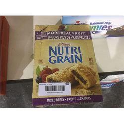 Nutri-Grain Bars Mixed Berry (590g)
