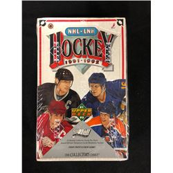 1991-92 UPPER DECK HOCKEY BOX