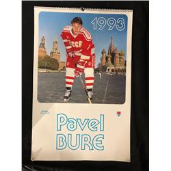 1993 PAVEL BURE HOCKEY CALENDAR