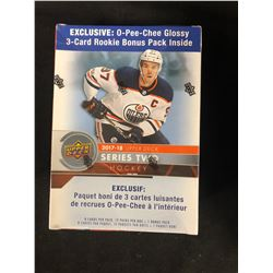2017-18 UPPER DECK SERIES TWO HOCKEY BOX