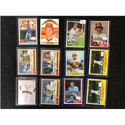 BASEBALL TRADING CARDS LOT