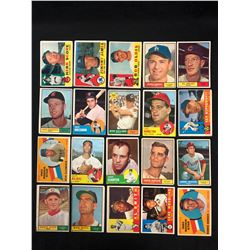 1960'S BASEBALL TRADING CARDS LOT