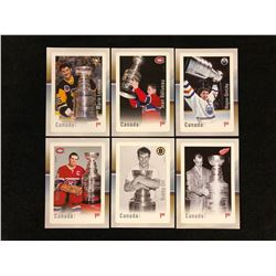 CANADA POST HOCKEY STAMPS LOT