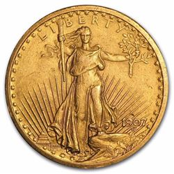 $20 Saint-Gaudens Gold Coin Double Eagle Over 100 Years Old  Minted 1907-1933
