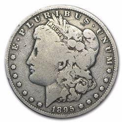 1895-O Morgan Dollar F12 Scarce Date