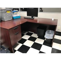 "CORNER UNIT ""L"" SHAPED DESK"