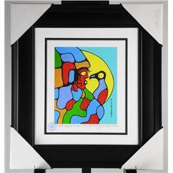 "Norval Morrisseau (1931-2007) Studio Panel. ""I Sp"