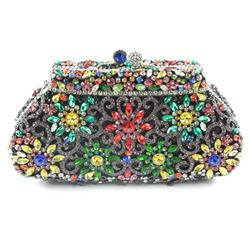 Ladies Clutch Bag - One of a Kind - All Hand Set w