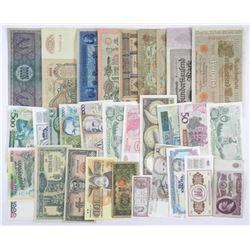 World Banknote Lot.