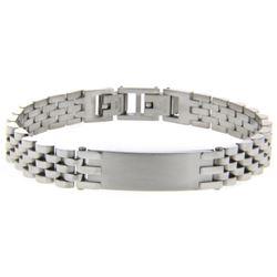 Gents 18/10 Stainless Steel Rolex-Link Bracelet.