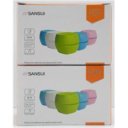 Pair of Bluetooth Speakers - Green.