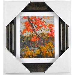 """Group of Seven Studio Panel - """"Twisted Maple"""" By"""