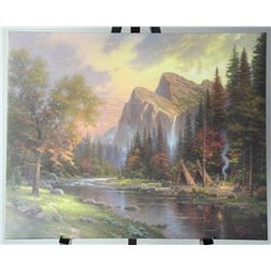 Thomas Kinkade (1958-2012) Gallery Wrap Canvas. 24