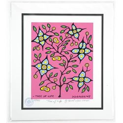 "Norval Morrisseau ""Tree of Life"" Giclee. Family"