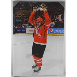 Max Domi - Team Canada Canvas. 20x29 Inches.