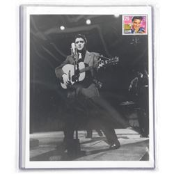 Elvis Collector Stamps and Photos.