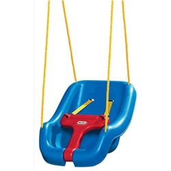 Little Tikes 2-in-1 Snug 'n Secure Swing, Blue