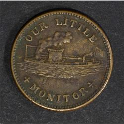 "1863 CIVIL WAR ""OUR LITTLE MONITOR"""