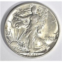 1941-S WALKING LIBERTY HALF DOLLAR, CH BU