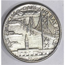 1936-S BAY BRIDGE COMMEM HALF
