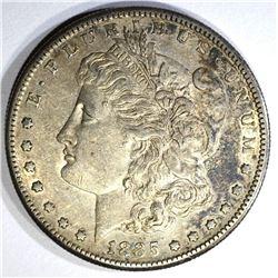 1885-S MORGAN DOLLAR, AU+