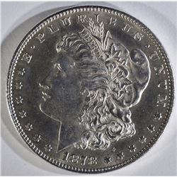 1878 7TF REV. 78 MORGAN DOLLAR BU