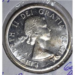 1959 CANADA $1 DOLLAR  GEM BU